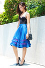 Black-lanvin-bag-black-bench-skirt-blue-apartment-8-skirt