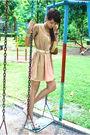 Beige-vest-pink-topshop-dress-white-belt-beige-gucci-beige-charles-kei