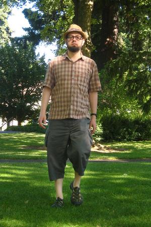 REI shirt - REI pants - Dorfman Pacific hat - Keen shoes
