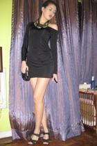 Sisley dress - Mango purse - Nine West shoes