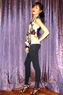 White-baleno-top-vintage-vest-h-m-leggings-black-bought-online-shoes