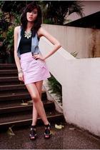 IconiQue top - IconiQue vest - IconiQue skirt