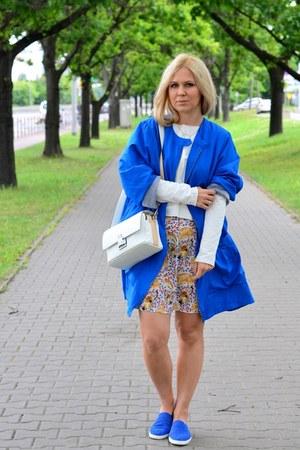 camel Topshop skirt