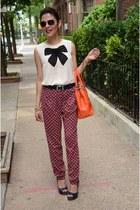Forever21 blouse - Forever 21 pants