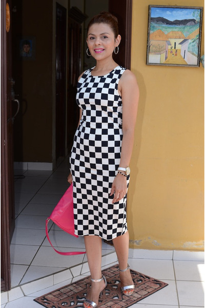 squares Forever 21 dress