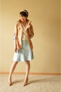 Tan-ann-taylor-loft-jacket-tan-guess-heels-light-blue-ann-taylor-loft-skirt
