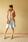 Tan-ann-taylor-loft-jacket-tan-guess-heels-light-blue-ann-taylor-loft-skirt