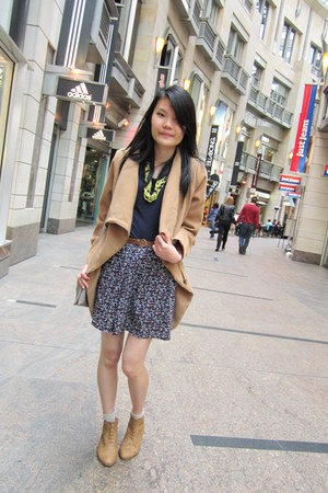 revenge jacket - oxford boots rubi boots - unbranded bag - handmade skirt