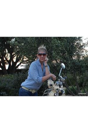 Adesso bracelet - Gianluca Tombolini boots - Mavi jeans - kate spade sunglasses