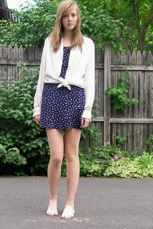 thrift blouse - thrift dress