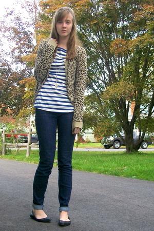 H&M shirt - H&M sweater - Nine West shoes