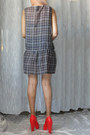 Charcoal-gray-iro-dress-red-alexander-wang-pumps