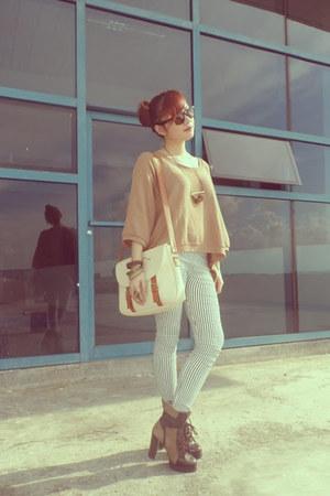 jamie boots - Studio Clip blouse