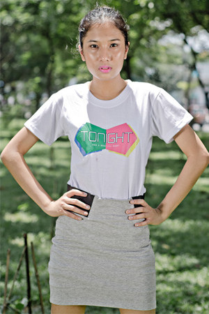 People are People skirt - Seoul Blast shirt