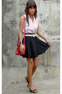 Black-from-department-store-skirt-ralph-lauren-tights-red-liz-claiborne-bag-