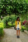 Yellow-archive-clothing-blazer-gray-greenhills-shirt-black-yrys-braided-belt