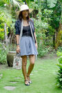 Black-thrifted-top-gray-from-sm-skirt-gray-random-scarf-black-thrifted-bla