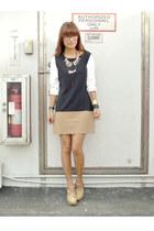 black mod The Ramp dress - dark khaki Highstyle fancy heels
