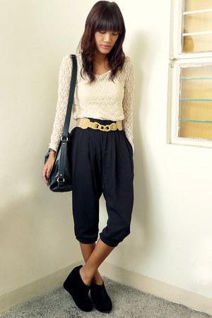 black SM pants - black fabmanilamultiplycom bag