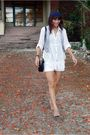 White-thrifted-top-white-pink-manila-shorts-gray-from-bangkok-vest-brown-t