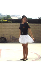 adidas top - Forever 21 dress - Forever 21 belt - H&M shoes