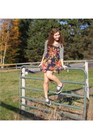 Target dress - Forever21 shirt - Target shoes