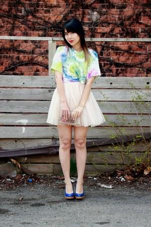 tie dye t-shirt Urban Outfitters t-shirt - Nasty Gal bag