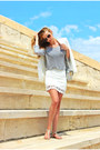 White-zara-blazer-white-zara-skirt