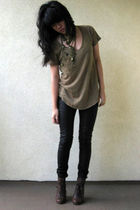 Zara shirt - Black Milk pants - accessories