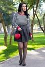 Rosewholesale-bag-choies-heels-sheinside-skirt-sheinside-top