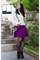 BangGood bag - Sheinside sweater - Choies skirt