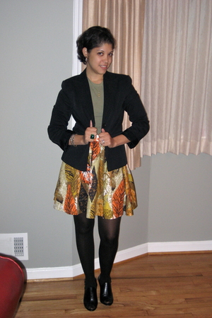Target skirt - Nine West shoes