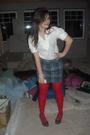 Red-panties