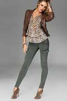 pants - Victorias Secret jacket - top - heels