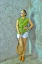 Slapwatch watch - booties moms shoes - brocade Greenhills shorts