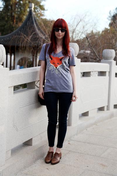 Brown jeans women