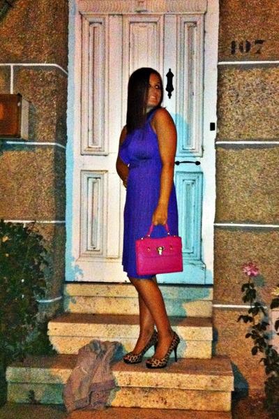Zara shoes - Zara dress - BLANCO bag