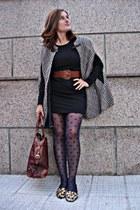 Zara shoes - Zara dress - Zara bag - Zara cape