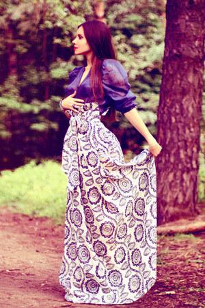 Olga Skazkina skirt - Olga Skazkina blouse