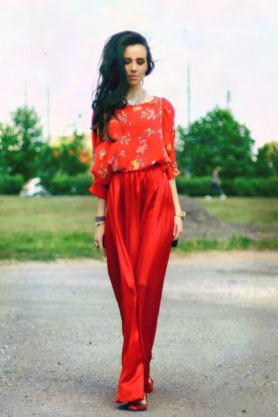 silk Olga Skazkina skirt