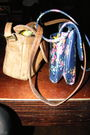 Blue-urban-outfitters-purse-brown-purse