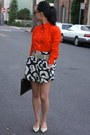 Salvatore-ferragamo-bag-jcrew-shirt-see-by-chloe-skirt-jimmy-choo-flats