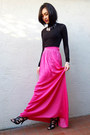 BCBGMAXAZRIA skirt - BCBGMAXAZRIA sweater - Guess heels