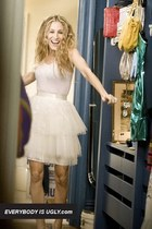 Carrie, Not Scary: Styling a Tulle or an Organza Skirt The Chic Way