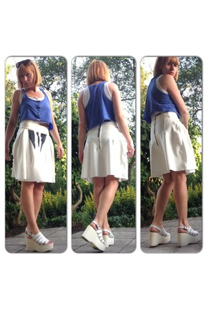 white scuba jersey upper palatinate rocks skirt