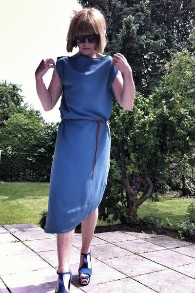 2 dress maison martin margiela dress - Jeffrey Campbell heels