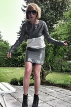 upper palatinate rocks dress - fake litas grey Deichmann heels