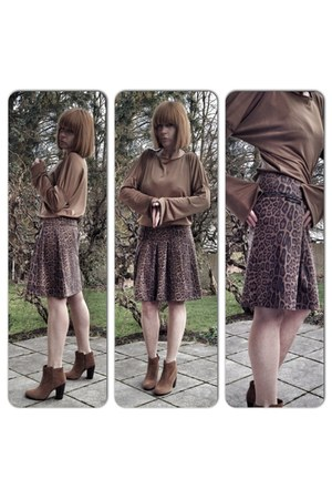 bronze leopard upper palatinate rocks skirt