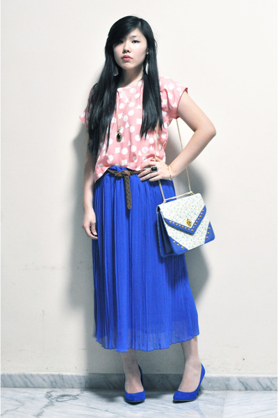 maxi skirt skirts blue heels quot cropped top maxi skirt