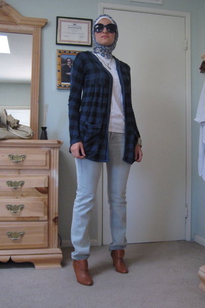 silence and noise jacket - boots - Nordstrom jeans